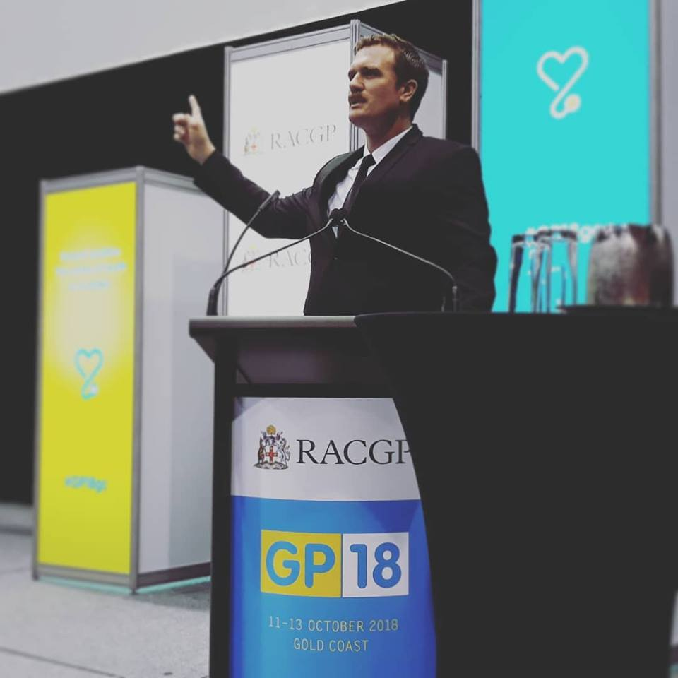 Dr Ben at RACGP - CDA Clinics